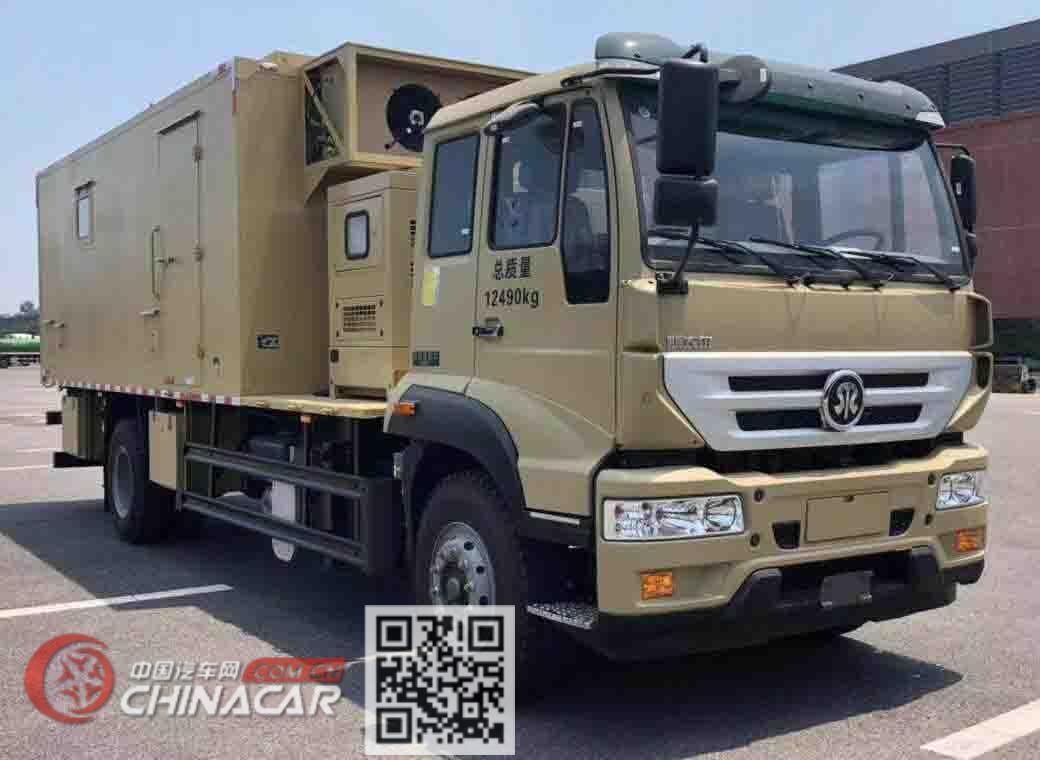铜江牌TJX5120XJE型监测车图片1