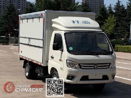 福田牌BJ5032XYK5JV5-01型翼开启厢式车图片