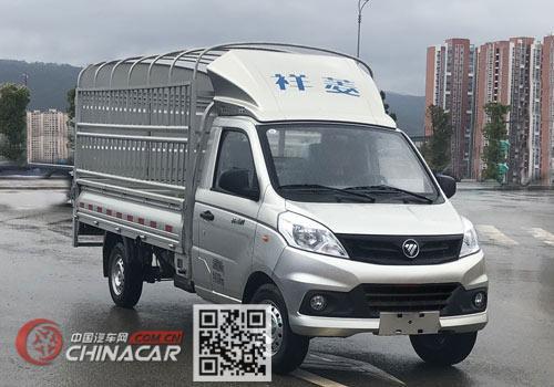 福田牌BJ5030CCYV4JV5-02型仓栅式运输车图片