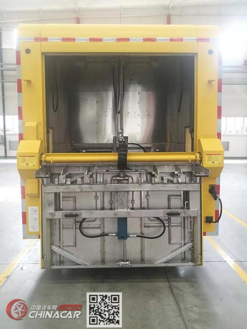 银宝牌SYB5111TQXQL6型垃圾桶清洗车图片2