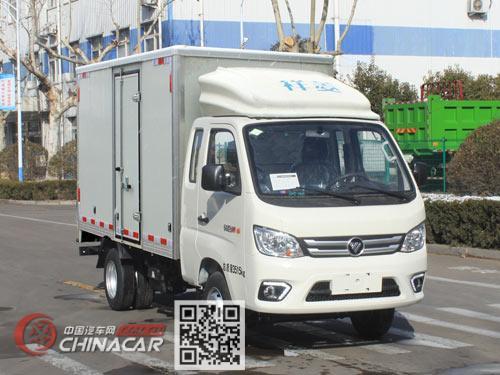 福田牌BJ5031XXY5PC4-01型厢式运输车图片
