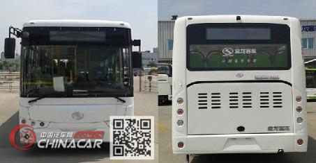 金龙牌XMQ6931AGD5型城市客车图片4
