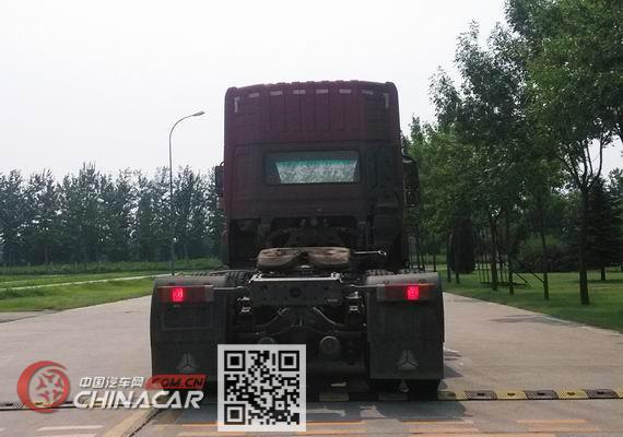 斯达-斯太尔牌ZZ4253N324GE1型牵引汽车图片4