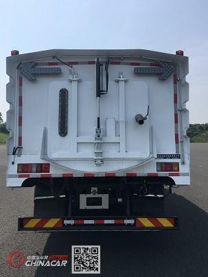 开沃牌NJL5180TXSBEV1型纯电动洗扫车图片2