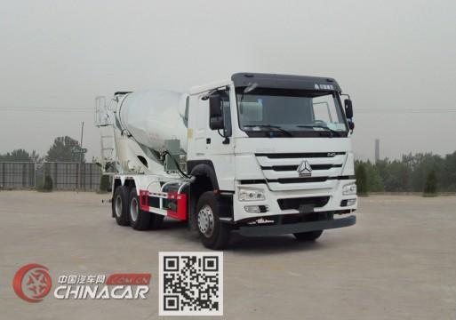 豪沃牌ZZ5257GJBN4347E1型混凝土搅拌运输车图片1