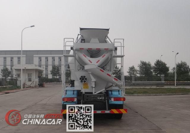 豪沃牌ZZ5257GJBN4347E1型混凝土搅拌运输车图片4