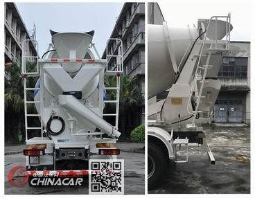 豪沃牌ZZ5257GJBN4347E1型混凝土搅拌运输车图片2