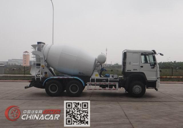 豪沃牌ZZ5257GJBN4347E1型混凝土搅拌运输车图片3