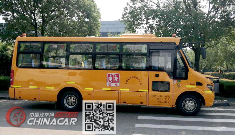 海格牌KLQ6756XQE5A型幼儿专用校车图片2