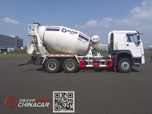 运力牌LG5250GJBZ5型混凝土搅拌运输车图片4