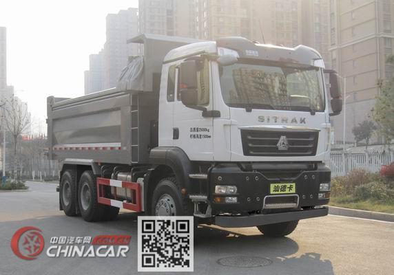 汕德卡牌ZZ3256N414SE1型自卸汽车图片1