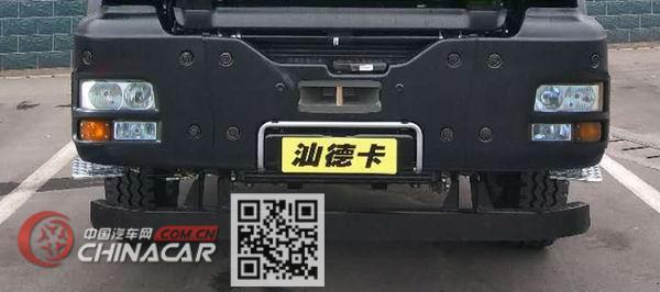 汕德卡牌ZZ3256N414SE1型自卸汽车图片4