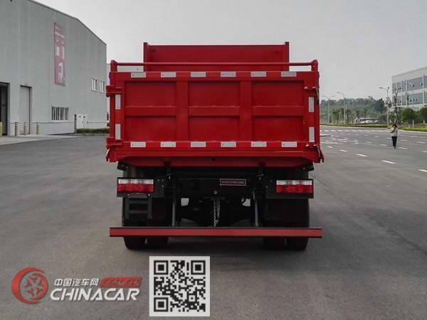 南骏牌CNJ2040ZPB33V型越野自卸汽车图片4