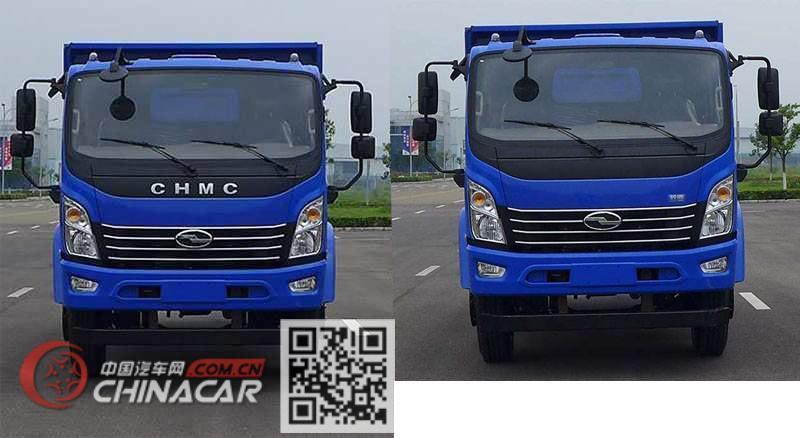 南骏牌CNJ2040ZPB33V型越野自卸汽车图片3