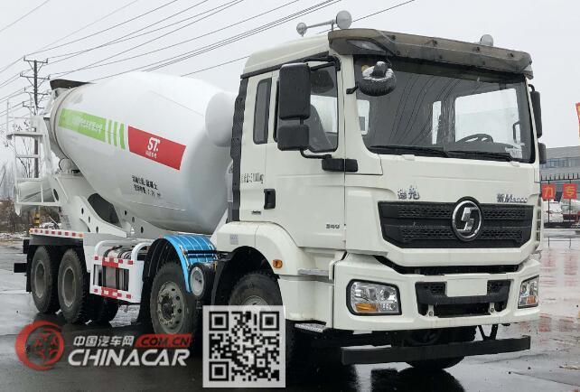 丰霸牌STD5311GJBSX5型混凝土搅拌运输车图片