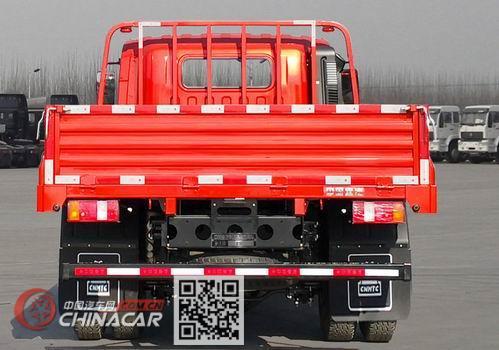 豪沃牌ZZ1117H4515F1型载货汽车图片4
