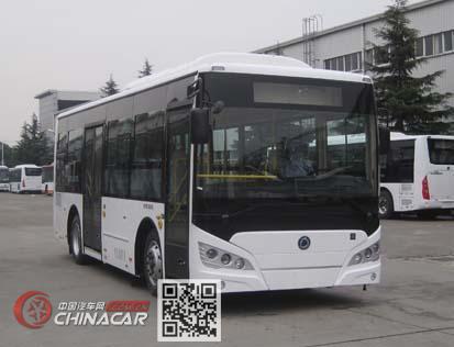 申龙牌SLK6819UBEVL7型纯电动城市客车图片1