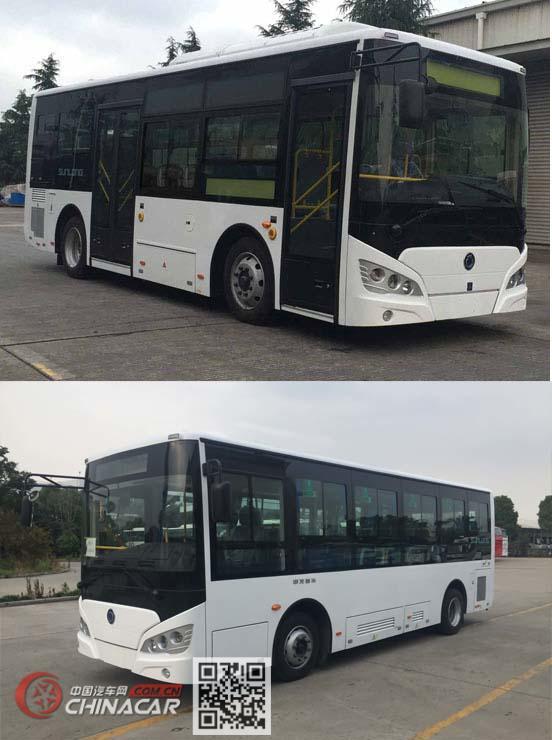 申龙牌SLK6819UBEVL7型纯电动城市客车图片2