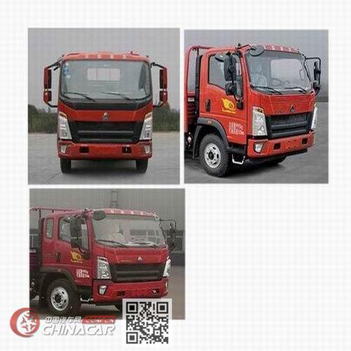 豪沃牌ZZ1117G3315F112型载货汽车图片2