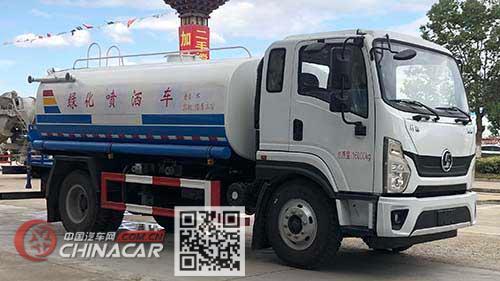 大力牌DLQ5160GPSXYP6型绿化喷洒车图片