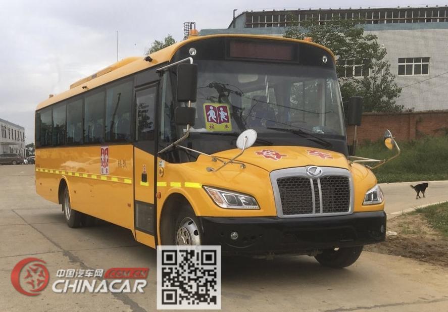 上饶牌SR6995DZA型中小学生专用校车图片3