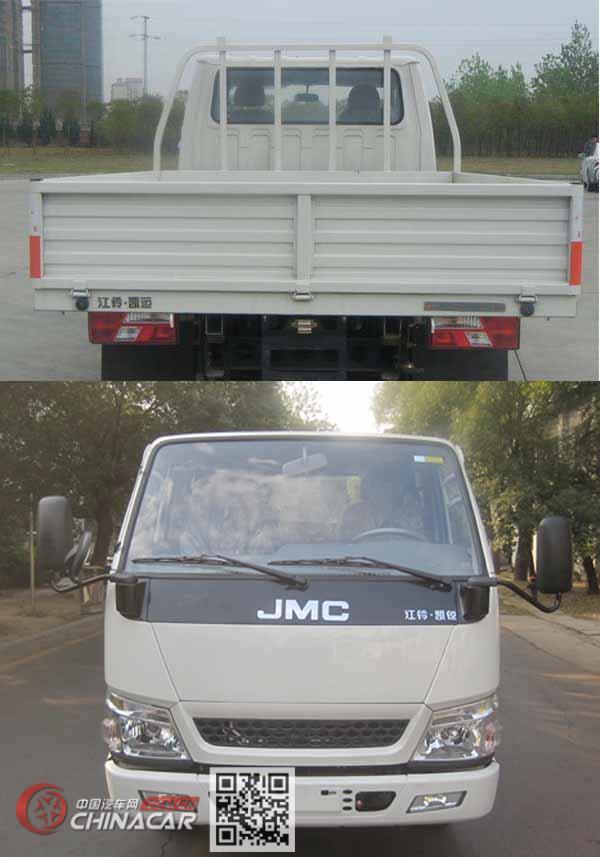 江铃牌JX1041TSCB25型载货汽车图片3