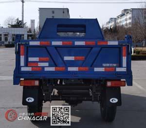 五星牌7YPJZ-17100PDB型自卸三轮汽车图片3