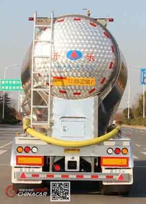 开乐牌AKL9400GFLL4型铝合金中密度粉粒物料运输半挂车图片3
