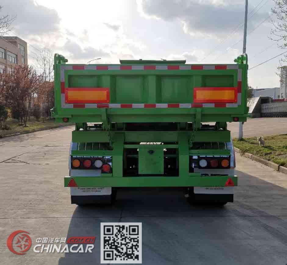 瑞江牌WL9404ZZXSN型自卸半挂车图片4