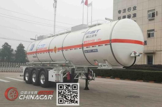 瑞江牌WL9400GYW27型氧化性物品罐式运输半挂车图片1