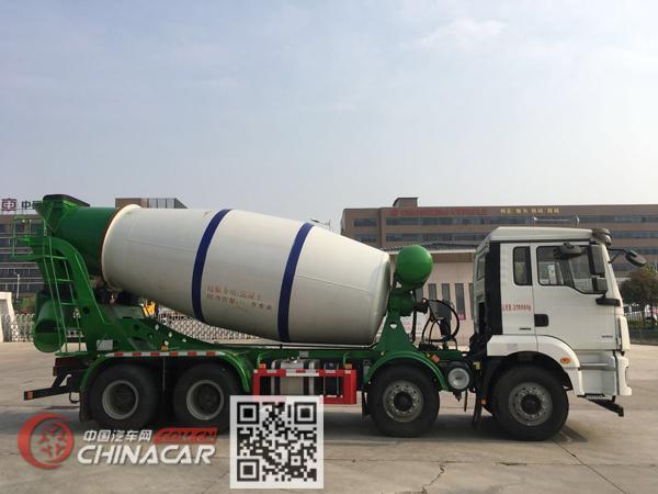 楚胜牌CSC5310GJBS5型混凝土搅拌运输车图片3