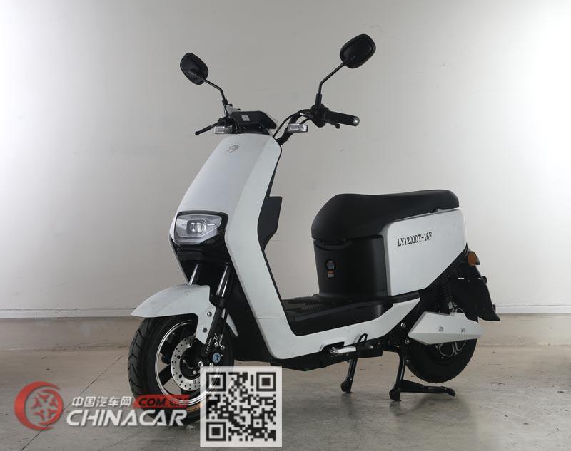 绿源牌LY1200DT-16F型电动两轮摩托车图片1