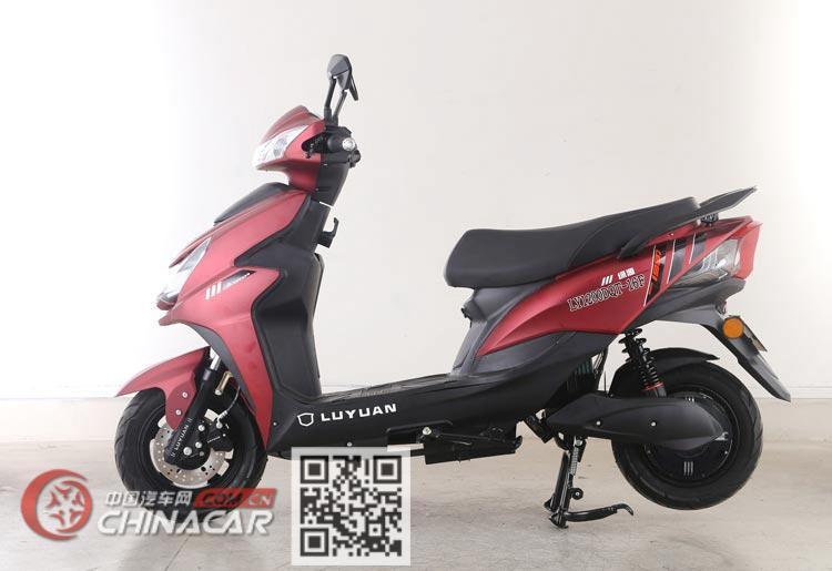 绿源牌LY1200DT-16F型电动两轮摩托车图片3