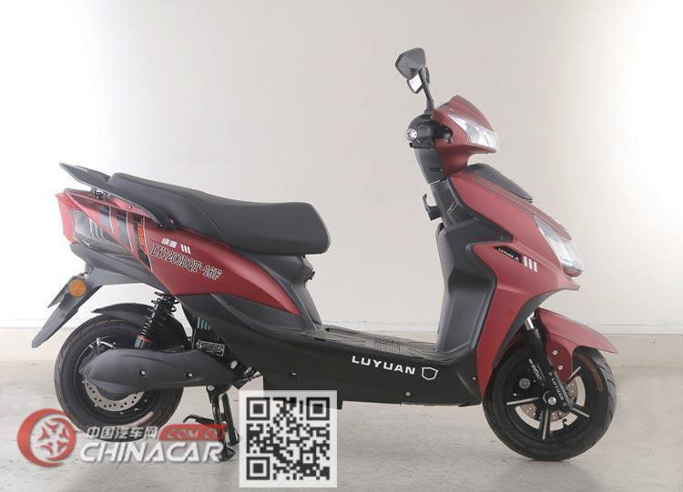 绿源牌LY1200DT-16F型电动两轮摩托车图片4