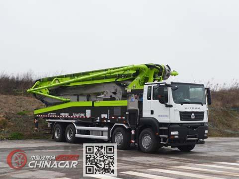 中联牌ZLJ5440THBKE型混凝土泵车图片1