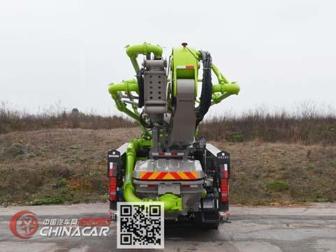 中联牌ZLJ5440THBKE型混凝土泵车图片4