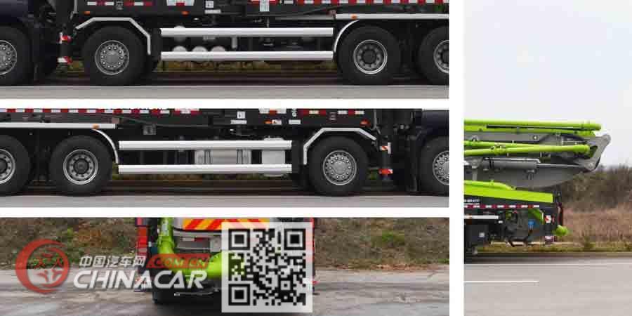 中联牌ZLJ5440THBKE型混凝土泵车图片