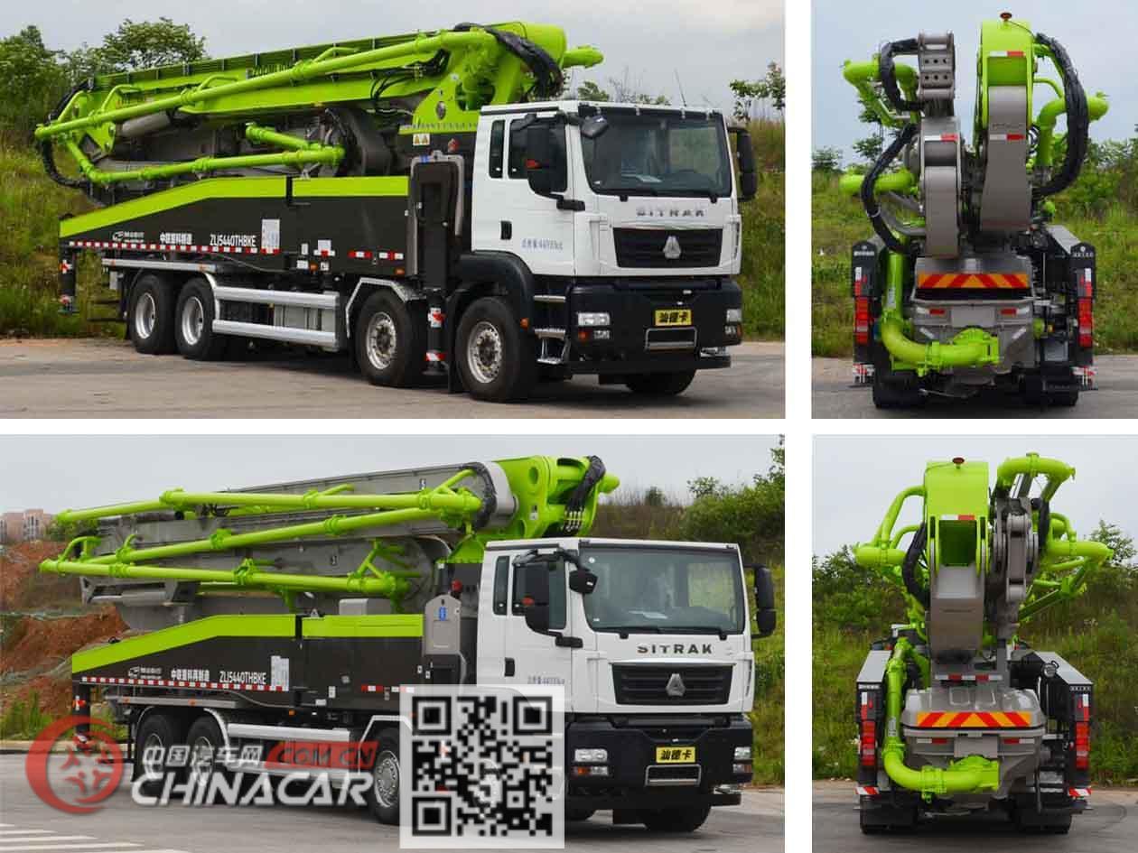 中联牌ZLJ5440THBKE型混凝土泵车图片2