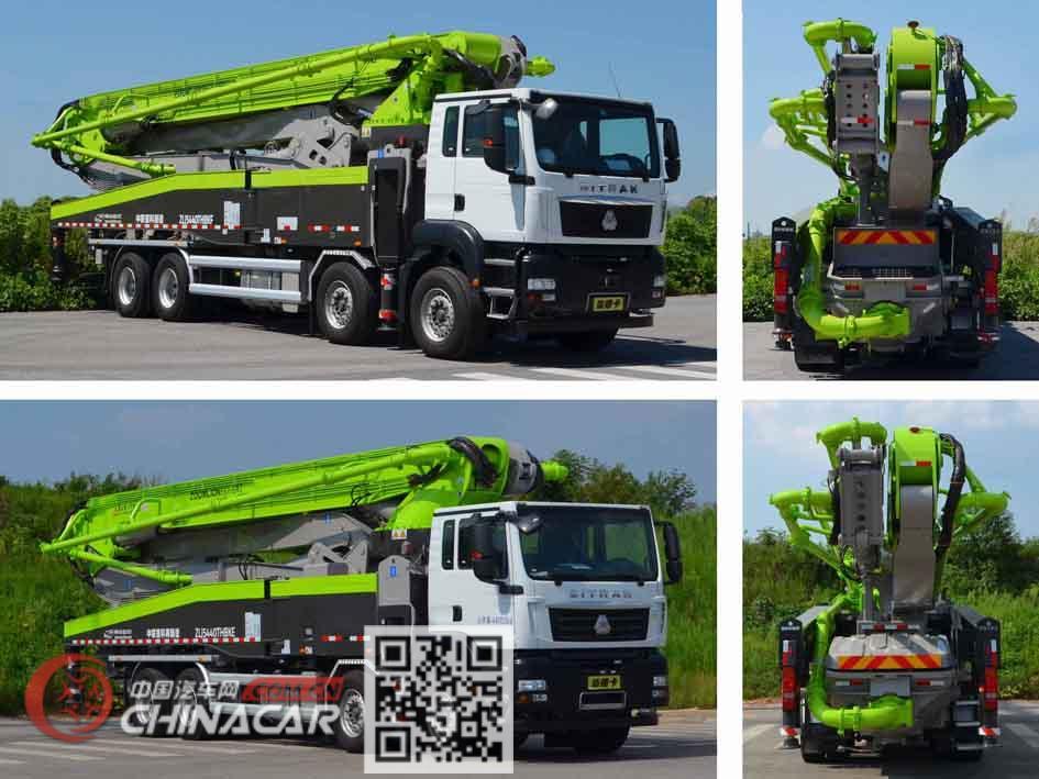 中联牌ZLJ5440THBKE型混凝土泵车图片3