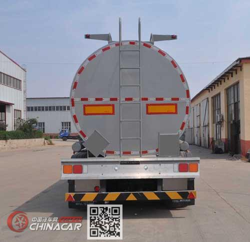 旗林牌QLG9401GPG型普通液体运输半挂车图片