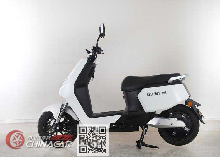 绿源牌LY1500DT-16A型电动两轮摩托车图片3