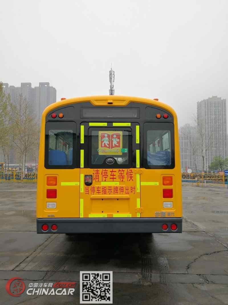 宇通牌ZK6995DX61型中小学生专用校车图片3