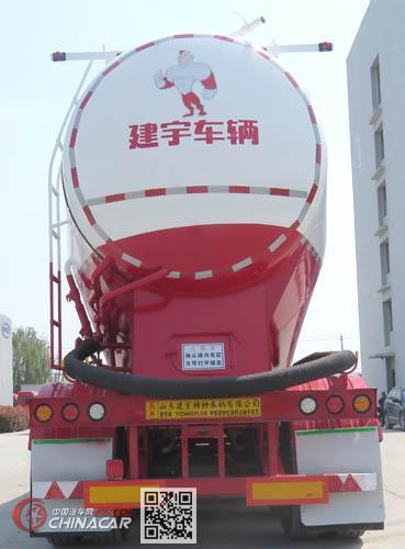 建宇牌YFZ9400GFL45B型中密度粉粒物料运输半挂车图片4