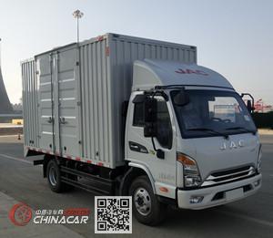 江淮牌HFC2043XXYP21K1C7NS型越野厢式运输车图片1