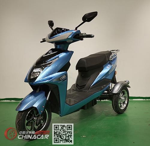 控可程牌KKC800DQZ-9型电动正三轮轻便摩托车图片2