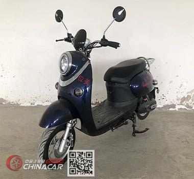位美牌WM800DQT-WG型电动两轮轻便摩托车图片1