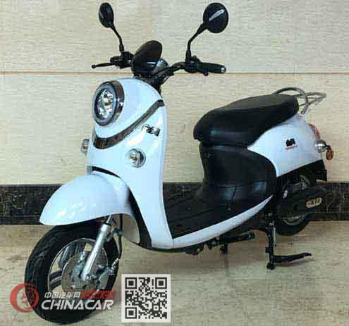 会美牌HM800DQT-C型电动两轮轻便摩托车图片1