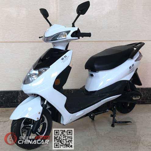 申玛牌SM800DQT-6A型电动两轮轻便摩托车图片1