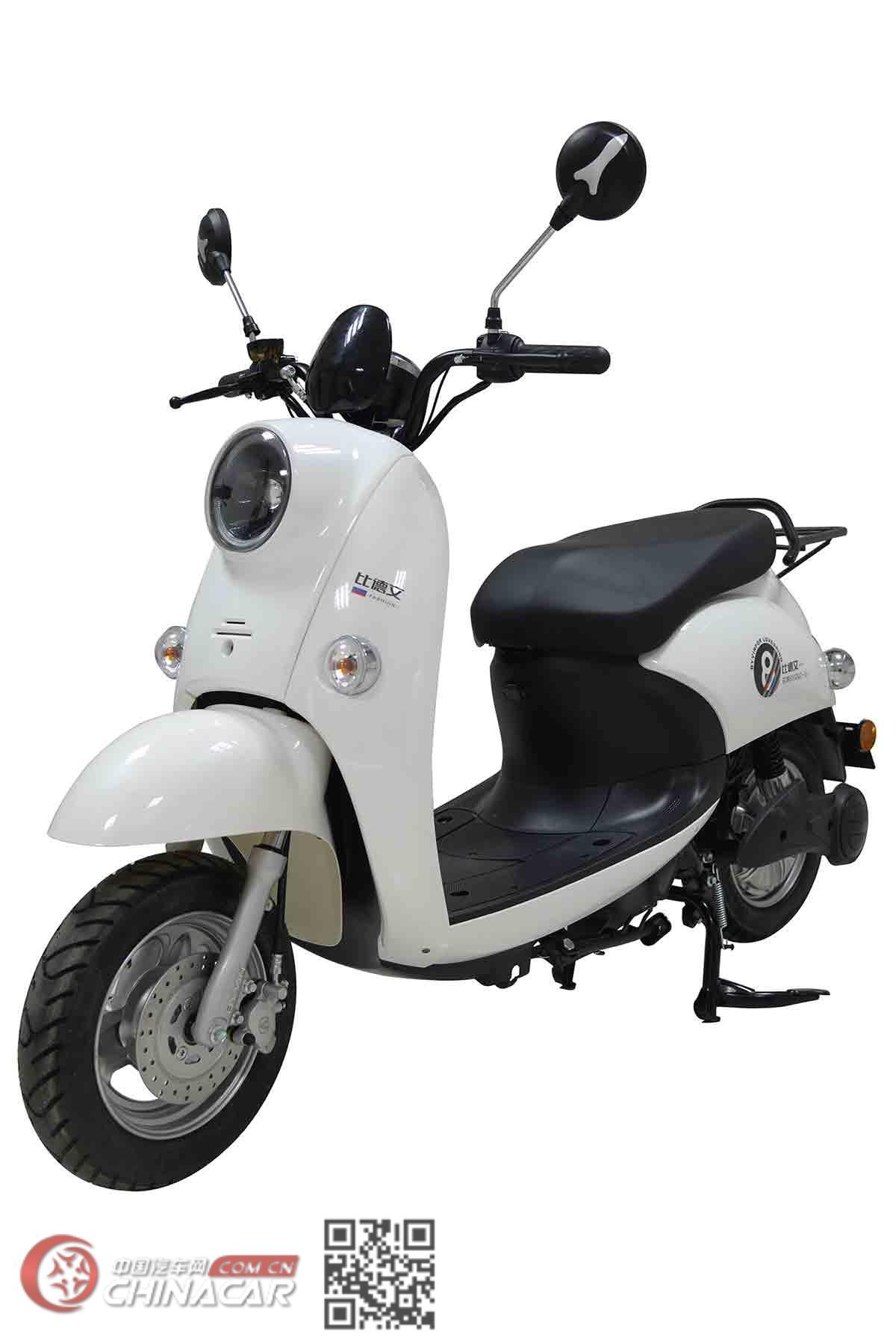 比德文牌BDW800DQT-16型电动两轮轻便摩托车图片1