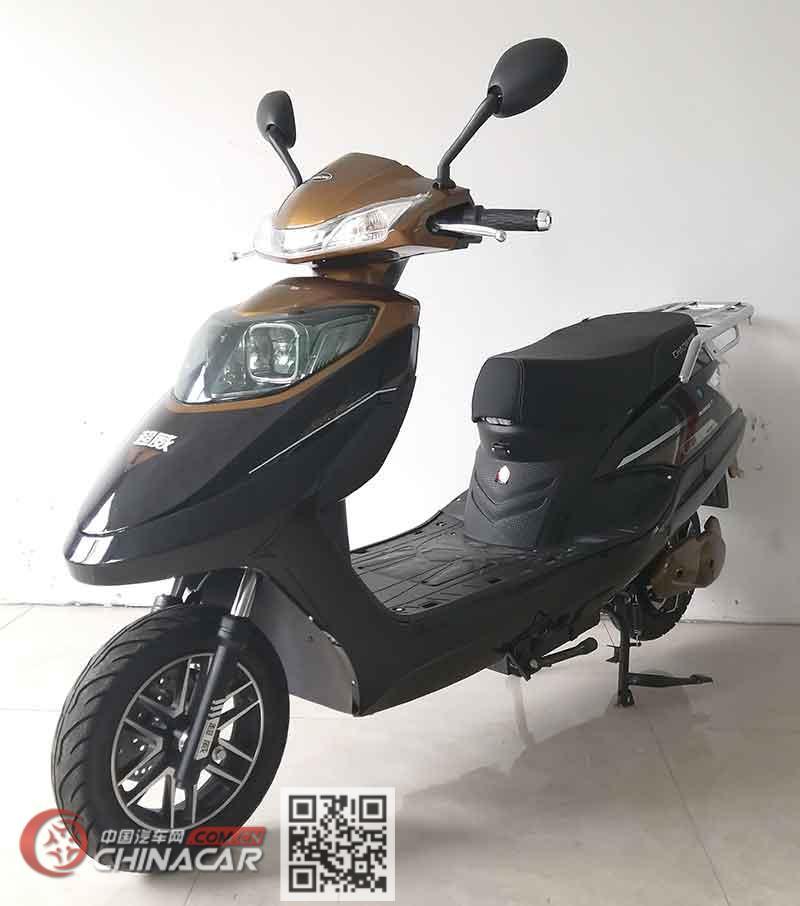 盛世超威牌CW1000DQT-10型电动两轮轻便摩托车图片1